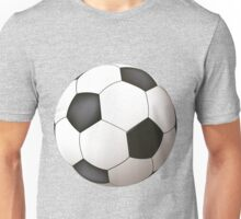 Soccer ball art Unisex T-Shirt