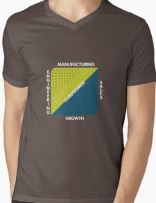 Conjoined Triangles of Success - Silicon Valley Mens V-Neck T-Shirt