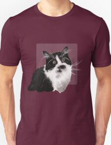 Hand drawn brown cat Unisex T-Shirt