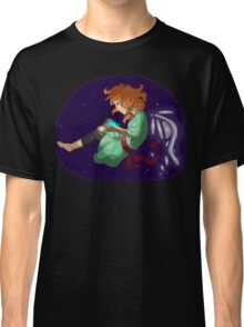 Magic Girl Picture Purple Classic T-Shirt