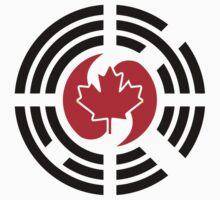 Korean Canadian Multinational Patriot Flag Series Baby Tee