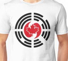 Korean Canadian Multinational Patriot Flag Series Unisex T-Shirt