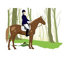 Equestrian sport Photographic Print