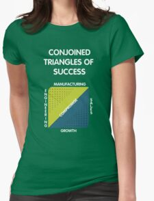 Conjoined Triangles of Success - Silicon Valley Womens Fitted T-Shirt