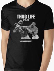 Thug Life 1 Mens V-Neck T-Shirt
