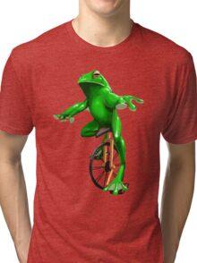 Dat Boi Handpainted Tri-blend T-Shirt