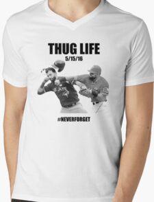 Thug Life 2 Mens V-Neck T-Shirt