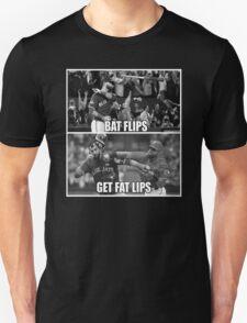 Bat Flips Get Fat Lips Unisex T-Shirt