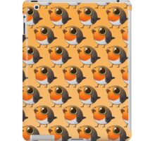 Cute Fat Robin iPad Case/Skin