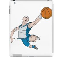 Basketball player pose iPad Case/Skin