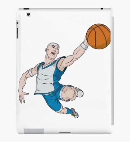Basketball player pose iPad Case/Skin