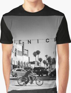 Cruising Pacific Avenue - Venice Beach California USA Graphic T-Shirt