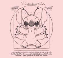 vitruvian stitch Baby Tee
