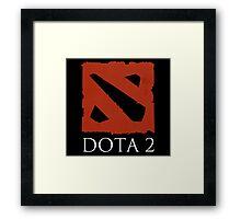 DOTA 2 - Logo Framed Print