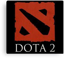 DOTA 2 - Logo Canvas Print
