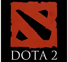 DOTA 2 - Logo Photographic Print