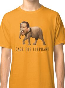 Nicolas Cage The Elephant Classic T-Shirt