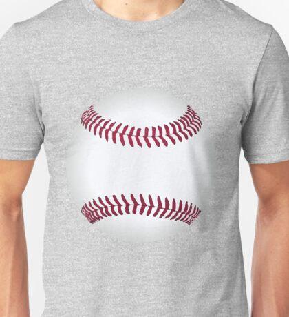 Funny cartoon baseball sporting design Unisex T-Shirt