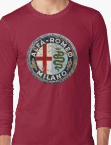 ALFA ROMEO RETRO BADGE Long Sleeve T-Shirt