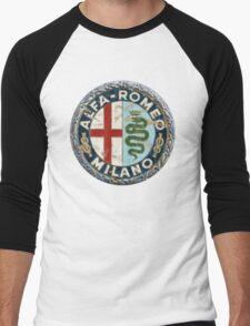 ALFA ROMEO RETRO BADGE Men's Baseball ¾ T-Shirt