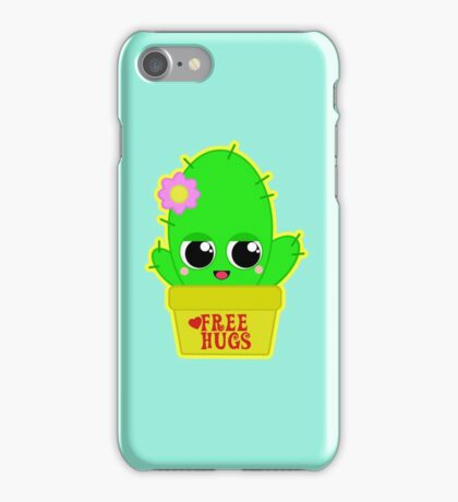 Kawaii Cactus  iPhone Case/Skin