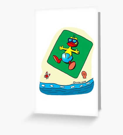 "Rick the chick ""SUMMER DAYS"" Greeting Card"