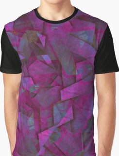 Fragments In Purple Graphic T-Shirt