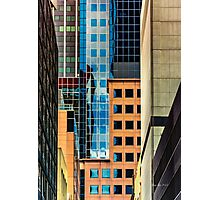 Melbourne Cityscape by Gaye G Photographic Print