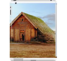 Sod Roofed Wooden Chapel iPad Case/Skin