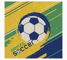 Brazil soccer world cup background One Piece - Short Sleeve
