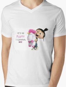 It's so Fluffy I gonna die Mens V-Neck T-Shirt