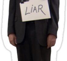 Dwight, The Liar Sticker