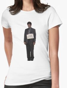 Dwight, The Liar Womens Fitted T-Shirt