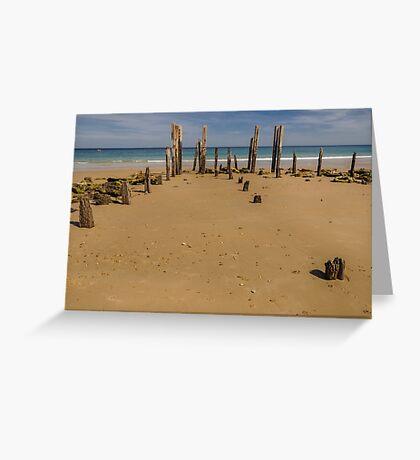 Port Willunga 1 Greeting Card