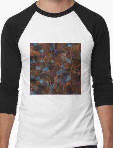 Fragments In Bronze Men's Baseball ¾ T-Shirt