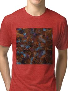 Fragments In Bronze Tri-blend T-Shirt