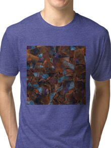Fragments In Bronze Tri-blend T-Shirt