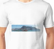 Panorama of Gibraltar from the Sea  Unisex T-Shirt