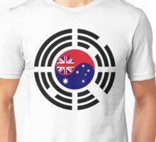 Korean Australian Multinational Patriot Flag Series Unisex T-Shirt