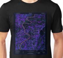 USGS TOPO Map Alabama AL Riverside 304951 1947 24000 Inverted Unisex T-Shirt