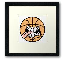 Creative cartoon drawing Framed Print