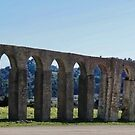 Panoramic View of Roman Aqueduct by Stephen Frost