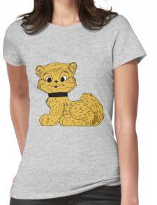 Cat clip art Womens Fitted T-Shirt