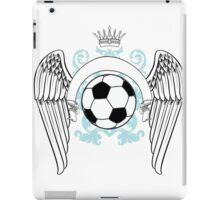 Vintage football graphics iPad Case/Skin