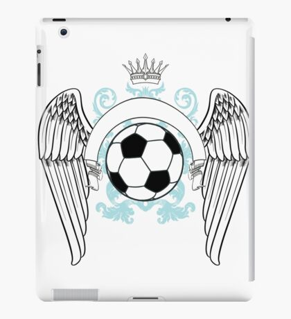 Vintage football graphics iPad Case/Skin