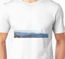 Panoramic view from Montserrat  Unisex T-Shirt