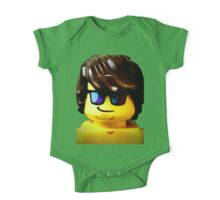 The Lego Lifeguard is always looking out One Piece - Short Sleeve