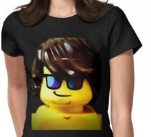 The Lego Lifeguard is always looking out Womens Fitted T-Shirt
