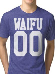 WAIFU 00 JERSEY Tri-blend T-Shirt