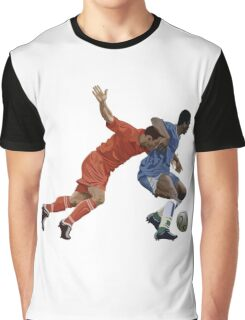Basketball cartoon characters Graphic T-Shirt